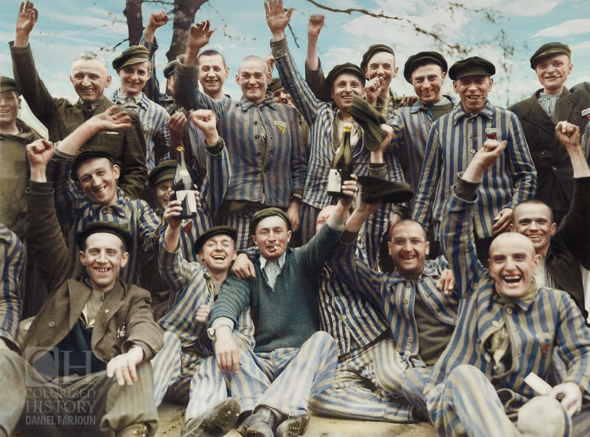 Holocaust Seen in Colors - Dachau Liberation