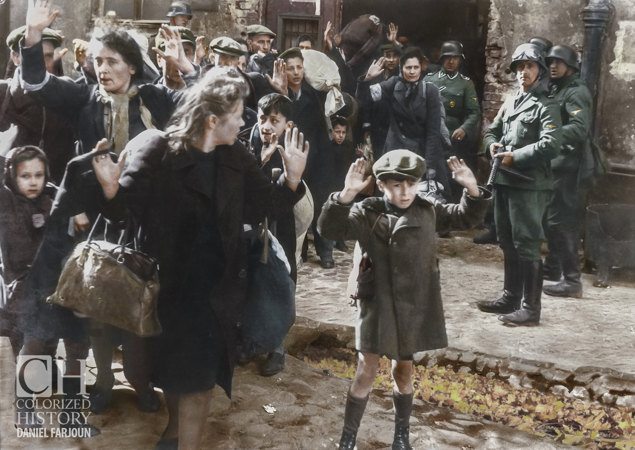 Holocaust Seen in Colors